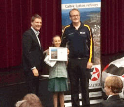 Kate is our Caltex award winner!