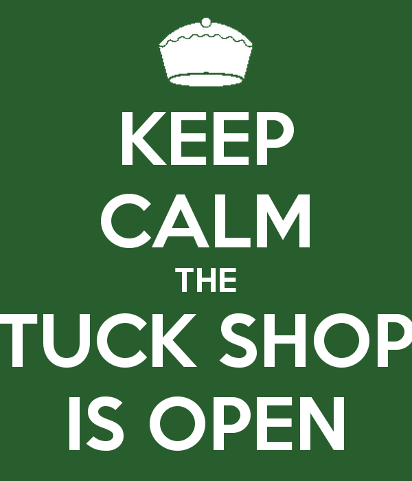 Tuckshop in new location!